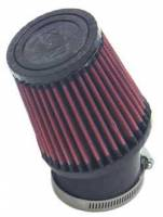 "K&N Filters - K&N Quarter Midget Cone Air Filter - Conical - 3-3/4"" Base - 3"" Top - 4"" Tall - 2-7/16"" Flange"