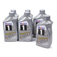 Mobil 1 - Mobil 1 0W-40 Synthetic Motor Oil - 1 Quart (Case of 6)