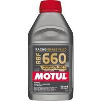 Motul - Motul RBF 660 Factory Line Racing Brake Fluid - 0.5 Liter (Case of 12)