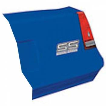 Allstar Performance - Allstar Performance 1983-88 Monte Carlo SS Tail - Chevron Blue - Right (Only)