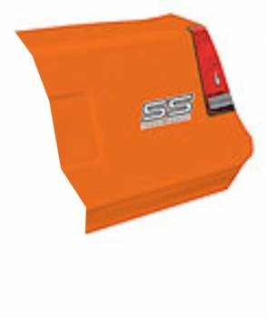 Allstar Performance - Allstar Performance 1983-88 Monte Carlo SS Tail - Orange - Right (Only)
