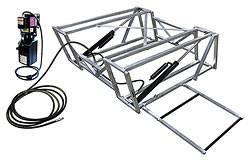 Allstar Performance - Allstar Performance Aluminum Frame Race Car Lift And Pump