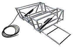 Allstar Performance - Allstar Performance Race Car Lift Aluminum Frame Only