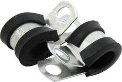 """Allstar Performance - Allstar Performance 3/8"""" Aluminum Line Clamps - (50 Pack)"""