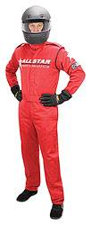Allstar Performance - Allstar Performance Race Suit - Medium - Red