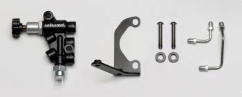 Wilwood Engineering - Wilwood Mounting Bracket Kit with Combination Proportioning Valve - Wilwood Tandem Master Cylinder