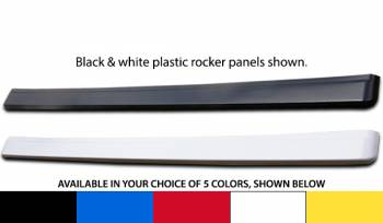 Five Star Race Car Bodies - Five Star Plastic Rocker Panel - Red