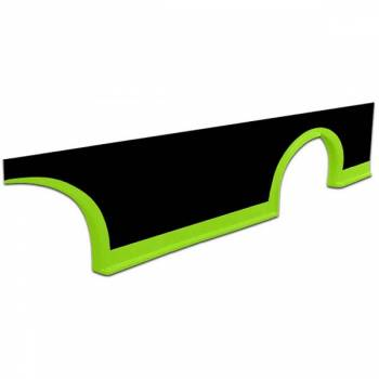 Five Star Race Car Bodies - Five Star MD3 Rocker Panel - Fluorescent Green