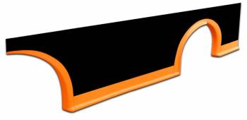 Five Star Race Car Bodies - Five Star MD3 Rocker Panel - Fluorescent Orange