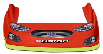 Five Star Race Car Bodies - Five Star 2013 Ford Fusion MD3 Complete Nose and Fender Combo Kit -Chevron Orange (Older Style)