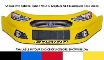Five Star Race Car Bodies - Five Star Ford Fusion Nose - Yellow - Right (Only)