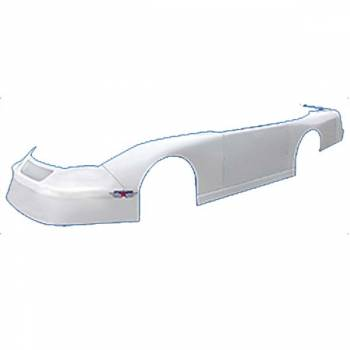 Five Star Race Car Bodies - Five Star Ford Fusion ABC Re-Skin Body Package - White - Traditional Roof Style