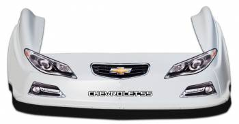 Five Star Race Car Bodies - Five Star Chevy SS MD3 Complete Nose and Fender Combo Kit - Orange (Newer Style)