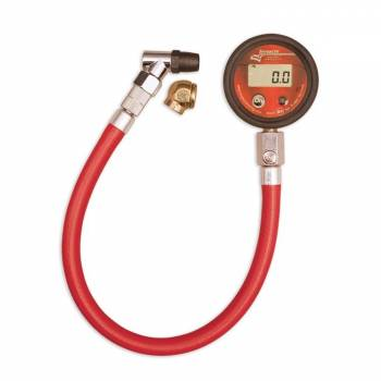 Longacre Racing Products - Longacre Basic Digital Tire Gauge w/ Active Display - 0-60 psi