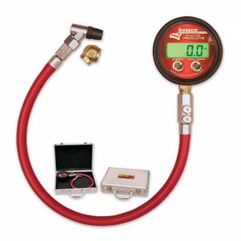 Longacre Racing Products - Longacre Pro Digital Tire Pressure Gauge - 0-25 psi