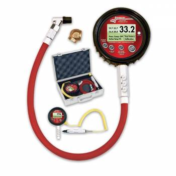 Longacre Racing Products - Longacre Temperature Compensated Digital Tire Pressure Gauge - 0-100 PSI