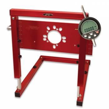 Longacre Racing Products - Longacre Universal Digital Bump Steer Gauge w/ Billet Plate