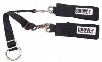 "Crow Enterprizes - Crow Junior 2"" Arm Restraints w/ V-Straps & Hooks"