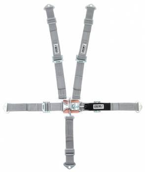 "Crow Enterprizes - Crow 2"" Quarter Midget Latch & Link 5 Point Restraint System - 50'' Seat Belt w/ Individual Harness - Bolt-In - Pull Down Adjust"