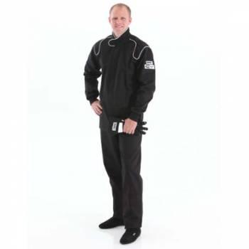 Crow Enterprizes - Crow Single Layer Proban® Driving Suit - 2 Piece Design - Black