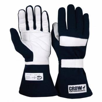 Crow Standard Junior Nomex® Driving Glove - Black