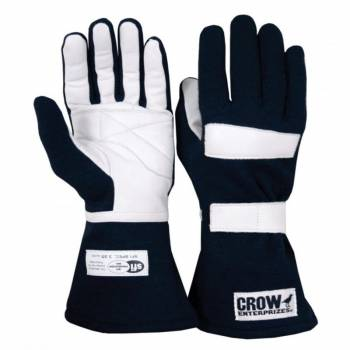 Crow Standard Nomex® Driving Glove - Black
