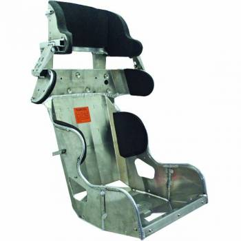 Kirkey Racing Fabrication - Kirkey 45 Series Deluxe Road Race Full Containment Seat (Only) - 18° Layback - 18""
