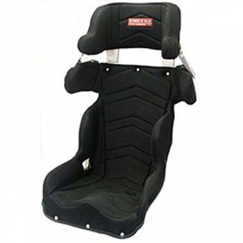 "Kirkey Racing Fabrication - Kirkey 45 Series Deluxe Road Race Full Containment Seat Cover (Only) - Black Airknit - 18"" - Fits #45900"