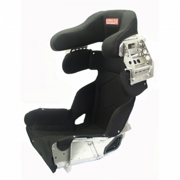 "Kirkey Racing Fabrication - Kirkey 73 Series Deluxe Full Containment Seat Cover (Only) -16"" - Black Airknit - Fits #73160"