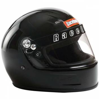 RaceQuip - RaceQuip Youth SFI 24.1 Full Face Auto Racing Helmet - Gloss Black