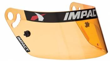Impact - Impact Anti-Fog Shield - Amber - Fits Vapor/Charger/Draft
