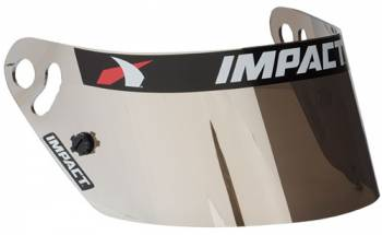 Impact - Impact Anti-Fog Shield - Chrome - Fits 1320/ Air Draft/ Super Sport