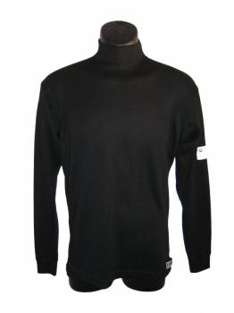 PXP RaceWear - PXP RaceWear Long Sleeve Underwear Top - Black - 2X-Small
