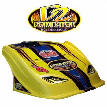 Dominator Racing Products - Dominator D2X Nose Kit - Black