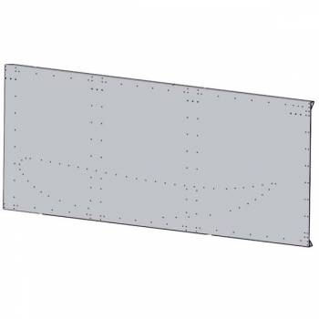 """Hepfner Racing Products - HRP Top Wing Super Side Board Kit - LH w/ 2"""" Lead - Flat Top Wing"""