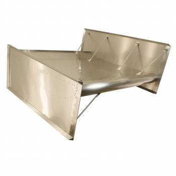 "Hepfner Racing Products - HRP Sprint Car Top Wing - 2.5"" Dish - Recessed Rivet - RH Super Board"
