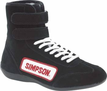 Simpson Race Products - Simpson Hightop Driving Shoes - Black - Junior