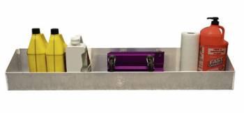 """Pit Pal Products - Pit Pal Universal Mega Storage Shelf - 48""""W x 4""""H x 8-1/2""""D"""