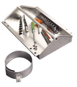 """Pit Pal Products - Pit Pal Junior Tool Tray & Standard Ring - 16-1/2""""W x 5""""H x 13-1/4""""D"""