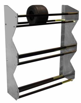 "Pit Pal Products - Pit Pal 3-Tier Kart Tire Rack - 48""H x 13""D"