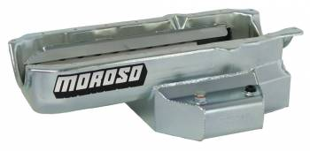 Moroso Performance Products - Moroso SB Chevy Oil Pan-Fabricated Tube Chassis with Lower Engines, '86 +