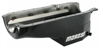 Moroso Performance Products - Moroso SB Chevy Oil Pan - 1 Pc Rear Main