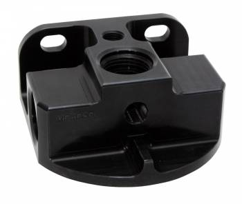 Moroso Performance Products - Moroso Billet Aluminum Remote Oil Filter Mount-Side Port