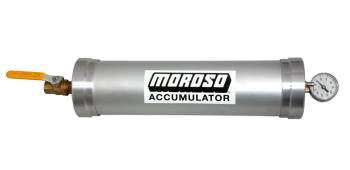 "Moroso Performance Products - Moroso Heavy Duty Accumulator - 3 qt capacity - 23"" x 4-3/4"" cylinder"