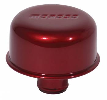 Moroso Performance Products - Moroso One Piece Push-In Valve Cover Breathers - Aluminum - Powder Coated-Red
