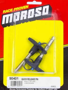 Moroso Performance Products - Moroso Heavy Duty Quick Release Pins 5/16 x 1-1/2 Pack of 2