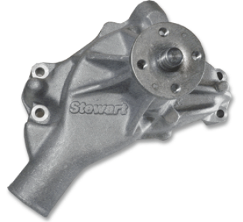 Stewart Components - Stewart Stage 2 Water Pump SB Chevy - Long