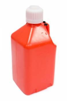Scribner Plastics - Scribner Plastics 5 Gallon Utility Jug - Orange