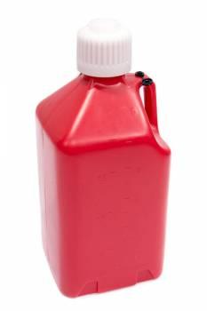 Scribner Plastics - Scribner Plastics 5 Gallon Utility Jug - Red