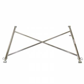Hepfner Racing Products - HRP Sprint Car Wing Tree - 4130 Steel Tubular - Plated - Eagle or Maxim Chassis w/ HRP Top Wings
